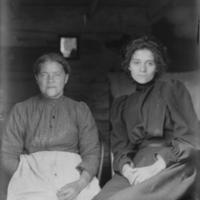 Portrait of Lucy Ann Langston and Oney Jane Langston.jpg