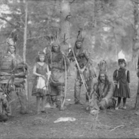 Group of Eight in Dance Costume 1899.jpg